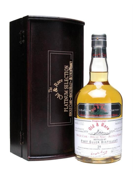 Port Ellen 1979 / 29 Year Old / World Duty Free Islay Whisky