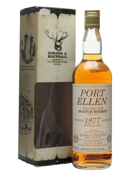 Port Ellen 1977 / Bot.1992 / Gordon & Macphail Islay Whisky