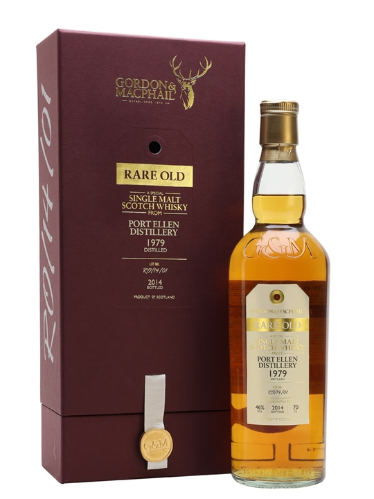 Port Ellen 1979 / Rare Old / Gordon & Macphail Islay Whisky