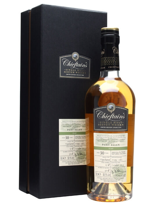 Port Ellen 1982 / 30 Year Old / Cask #1518 / Chieftain's Islay Whisky