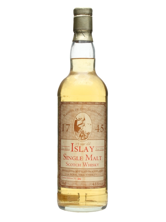 Port Ellen 17 Year Old / Royal Mile Whiskies Islay Whisky
