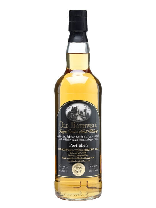 Port Ellen 1982/ 28 Year Old / Cask#2044 / Old Bothwell Islay Whisky