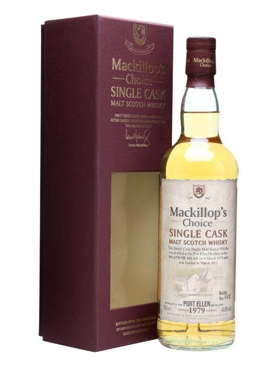 Port Ellen 1979 / Bot.2012 / Mackillop's Choice Islay Whisky