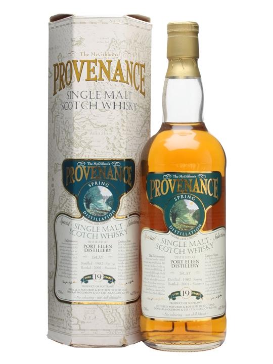 Port Ellen 1982 / 19 Year Old Islay Single Malt Scotch Whisky