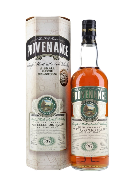 Port Ellen 1983 / 26 Year Old/ Provenance/ Sherry Butt #5746 Islay Whisky