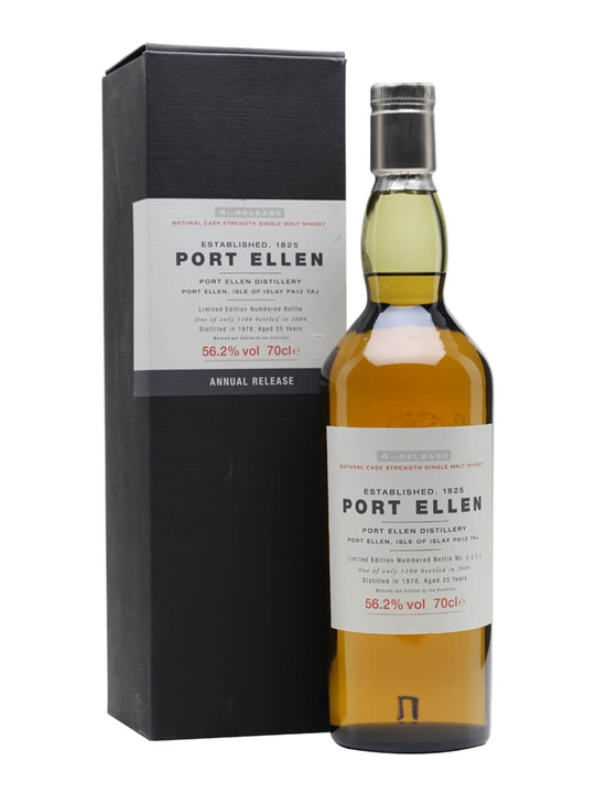 Port Ellen 1978 / 25 Year Old / 4th Release (2004) Islay Whisky
