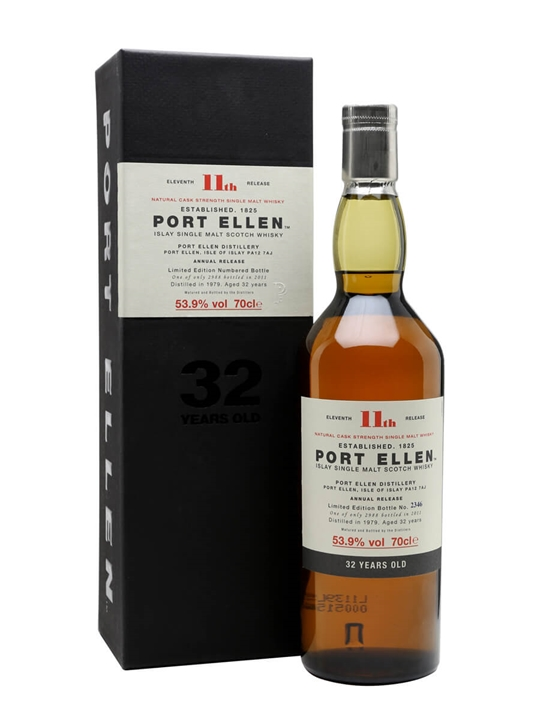 Port Ellen 1979 / 32 Year Old / 11th Release (2011) Islay Whisky