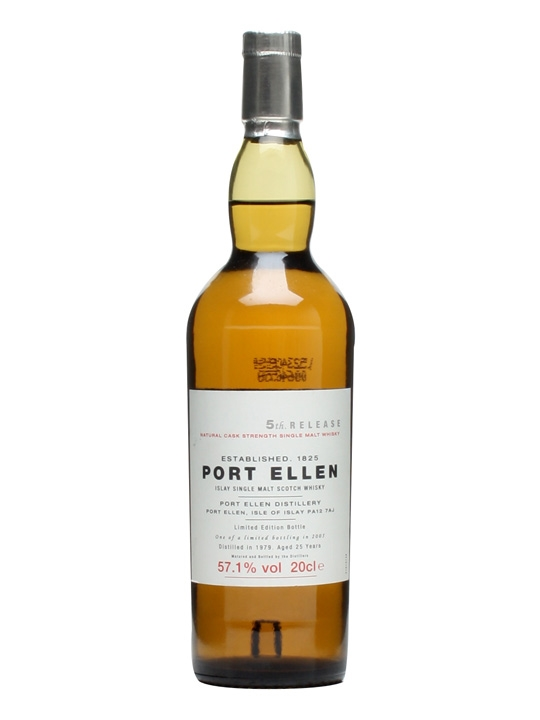 Port Ellen 1979 / 25 Year Old / 5th Release / Small Bottle Islay Whisky