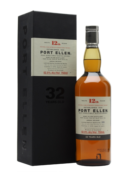 Port Ellen 1979 / 32 Year Old / 12th Release Islay Whisky