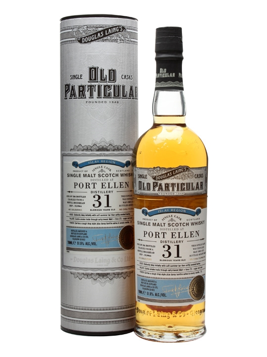 Port Ellen 1982 / 31 Year Old / Old Particular Islay Whisky