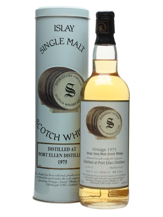 Port Ellen 1975 / 23 Year Old / Cask #1755 Islay Whisky
