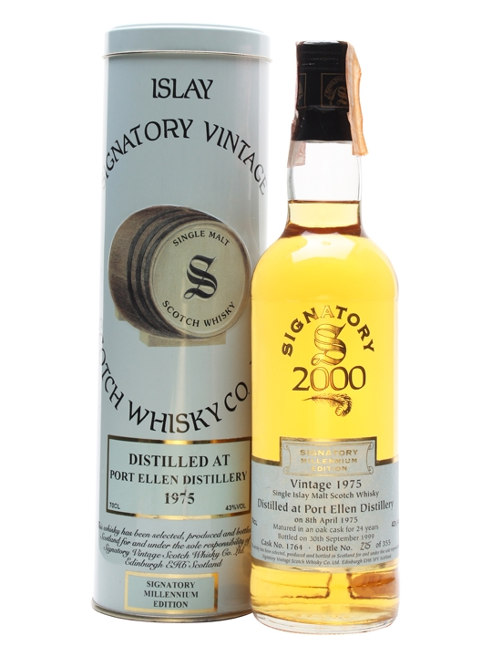 Port Ellen 1975 / 24 Year Old / Cask #1764 Islay Whisky