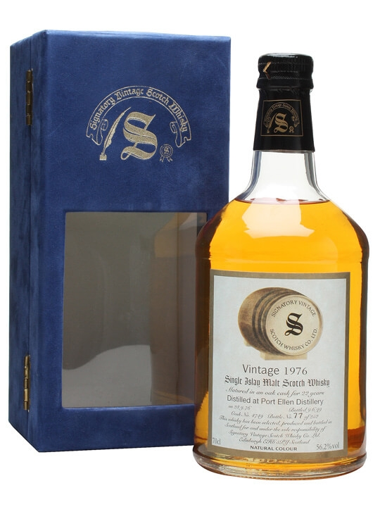 Port Ellen 1976 / 22 Year Old / Cask #4749 Islay Whisky