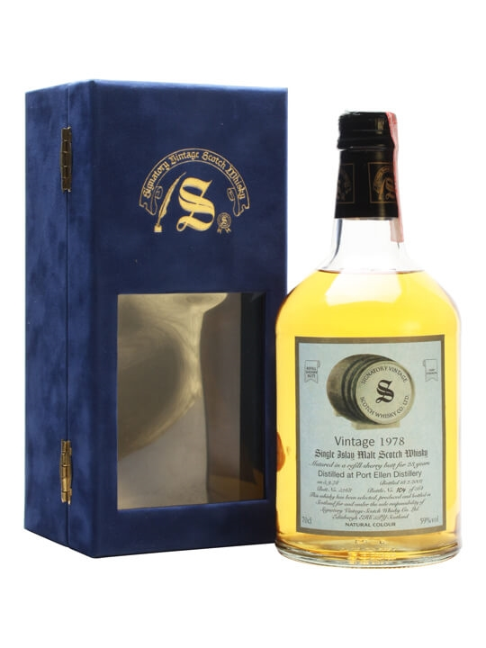 Port Ellen 1978 / 23 Year Old / Refill Sherry Cask #5268 Islay Whisky