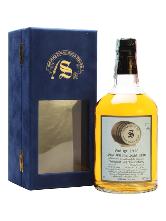 Port Ellen 1978 / 23 Year Old / Cask #5338 Islay Whisky
