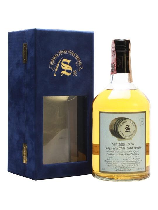 Port Ellen 1978 / 23 Year Old / Signatory Islay Whisky