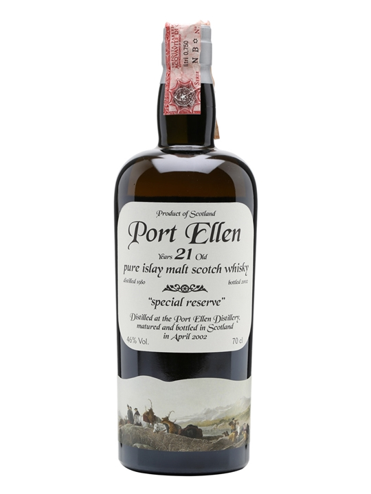 Port Ellen 1980 / 21 Year Old / Bot.2002 Islay Whisky