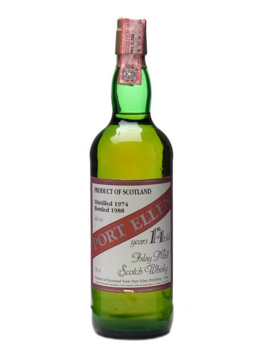 Port Ellen 1974 / 14 Year Old Islay Single Malt Scotch Whisky