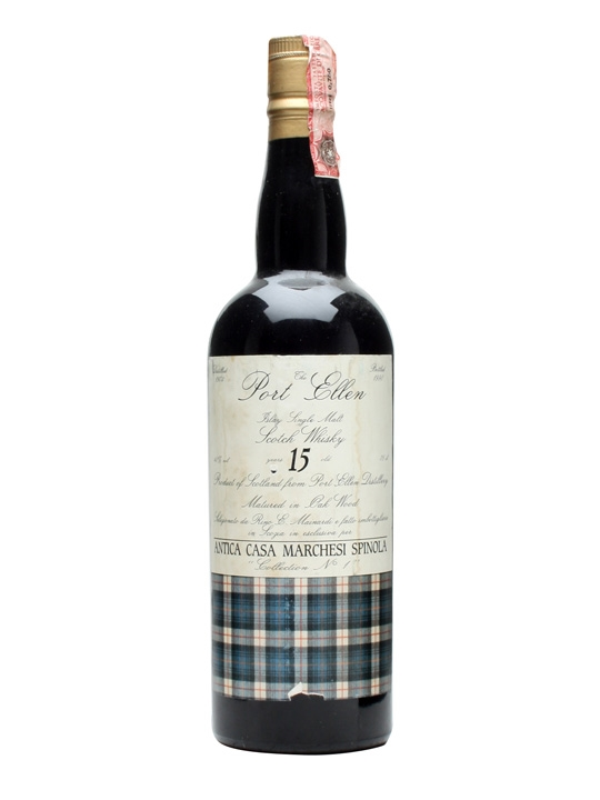 Port Ellen 1974 / 15 Year Old Islay Single Malt Scotch Whisky