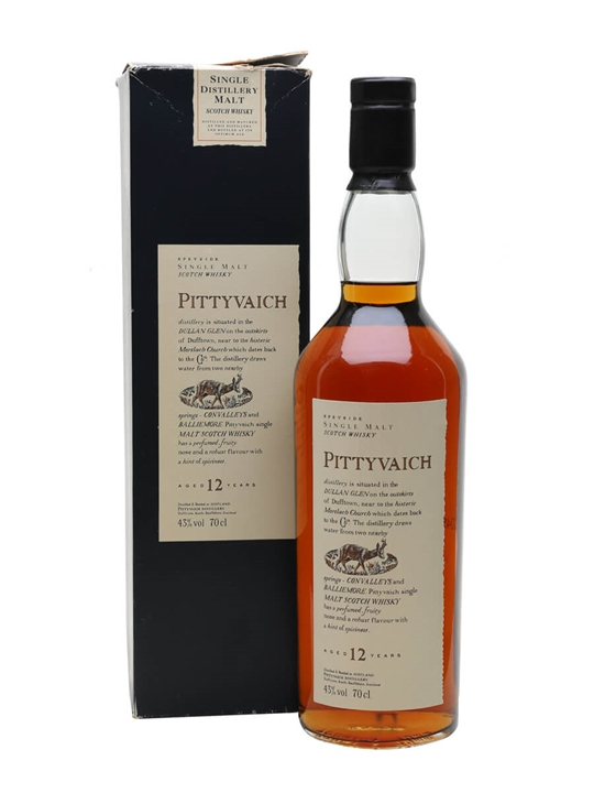 Pittyvaich 12 Year Old Speyside Single Malt Scotch Whisky