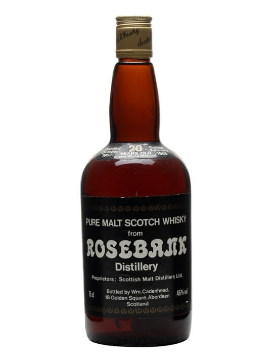 Rosebank 1967 / 20 Year Old Lowland Single Malt Scotch Whisky