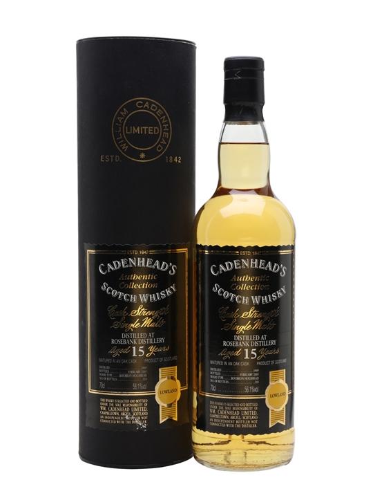 Rosebank 1989 / 15 Year Old / Bourbon Hogshead Lowland Whisky