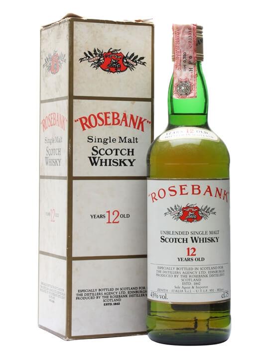 Rosebank 12 Year Old / Bot. 1980s Lowland Single Malt Scotch Whisky