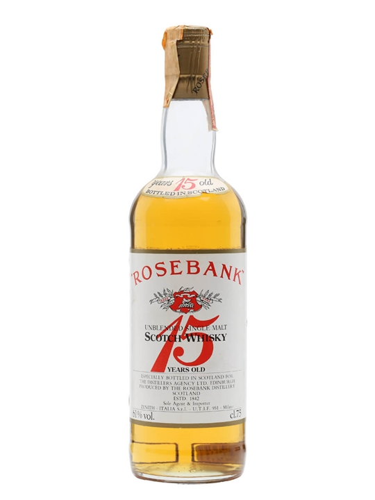 Rosebank 15 Year Old / Bot.1980s Lowland Single Malt Scotch Whisky