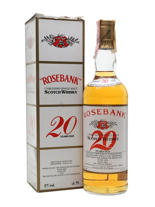 Rosebank 20 Year Old / Bot.1970s Lowland Single Malt Scotch Whisky