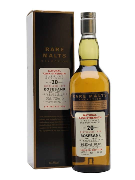 Rosebank 1979 / 20 Year Old Lowland Single Malt Scotch Whisky