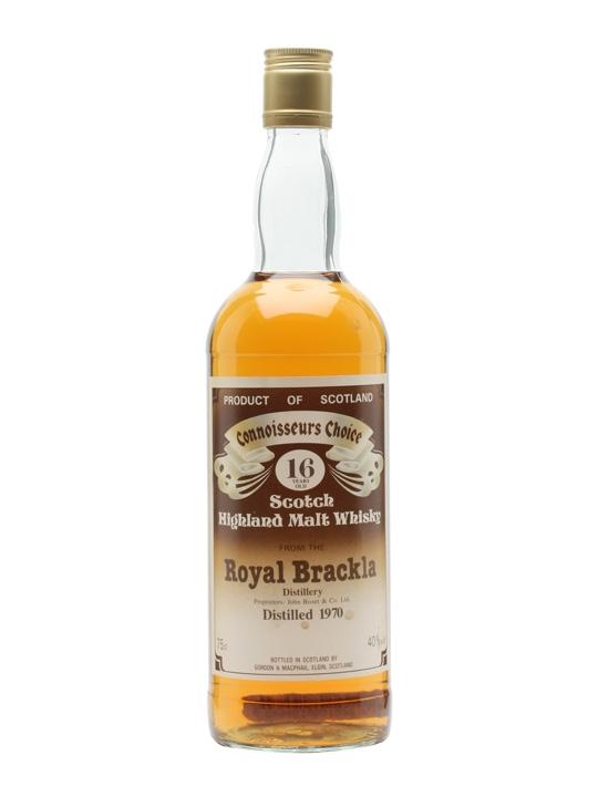 Royal Brackla 1970 / 20 Year Old / Connoisseurs Choice Highland Whisky