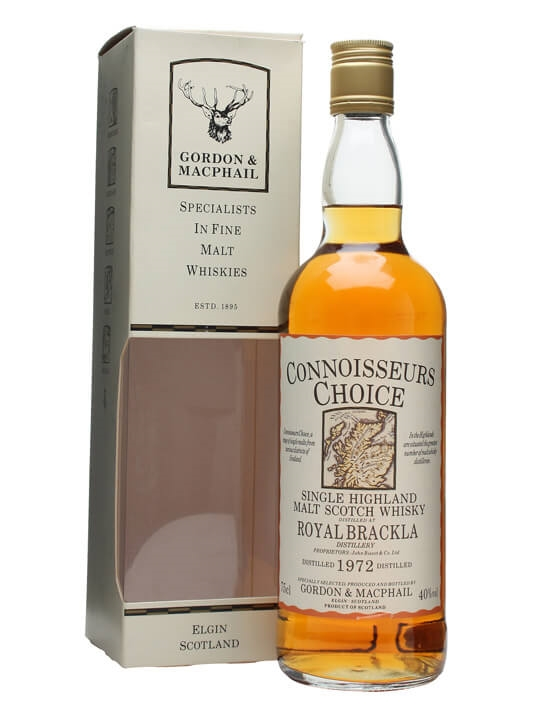 Royal Brackla 1972 / Bot.1980s / Connoisseurs Choice Highland Whisky