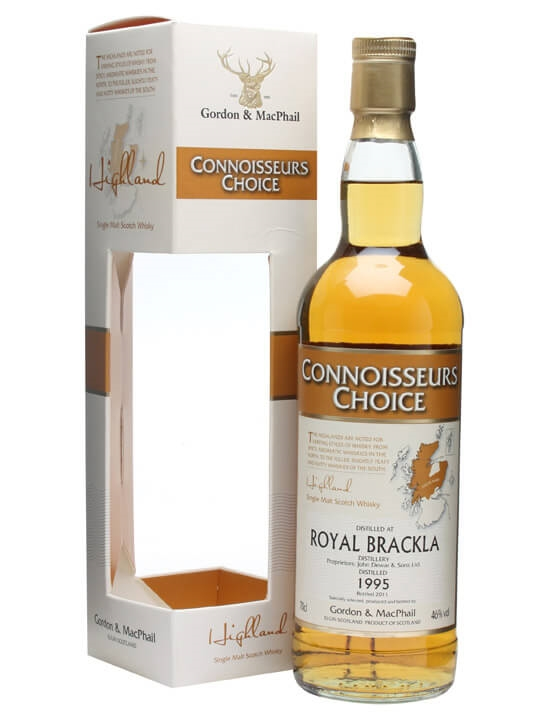 Royal Brackla 1995 / Connoisseurs Choice Highland Whisky