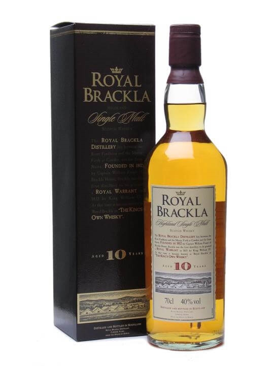 Royal Brackla 10 Year Old Highland Single Malt Scotch Whisky
