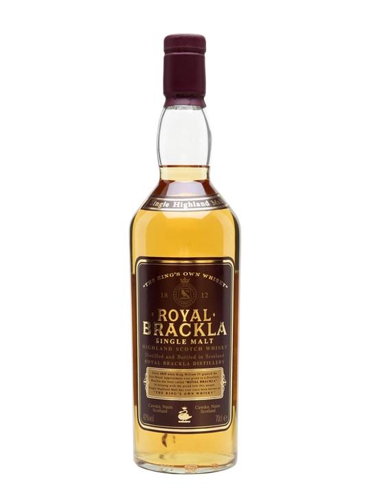 Royal Brackla / Old Presentation Highland Single Malt Scotch Whisky