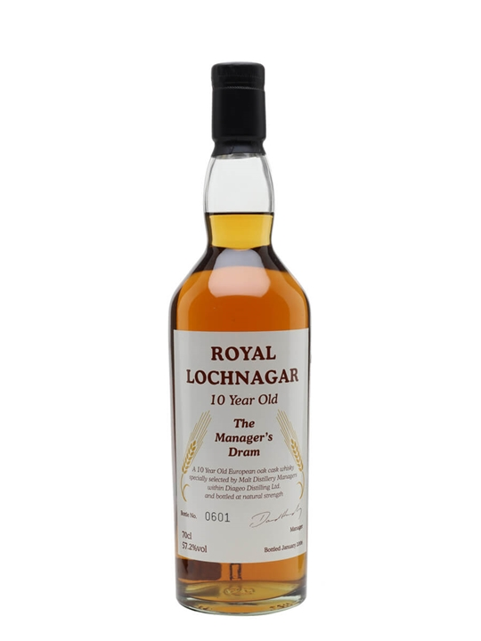 Royal Lochnagar 10 Year Old / Manager's Dram Highland Whisky