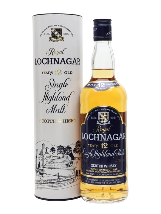 Royal Lochnagar 12 Year Old  Bot.1980s Highland Whisky