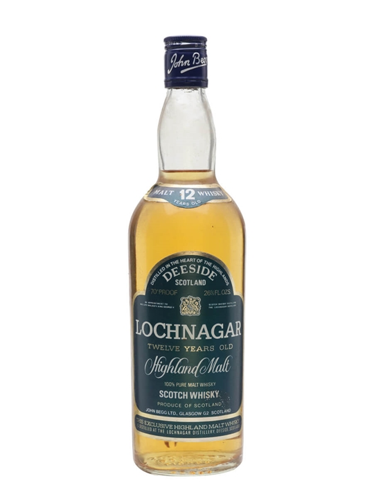 Lochnagar 12 Year Old  Bot.1970s Highland Single Malt Scotch Whisky