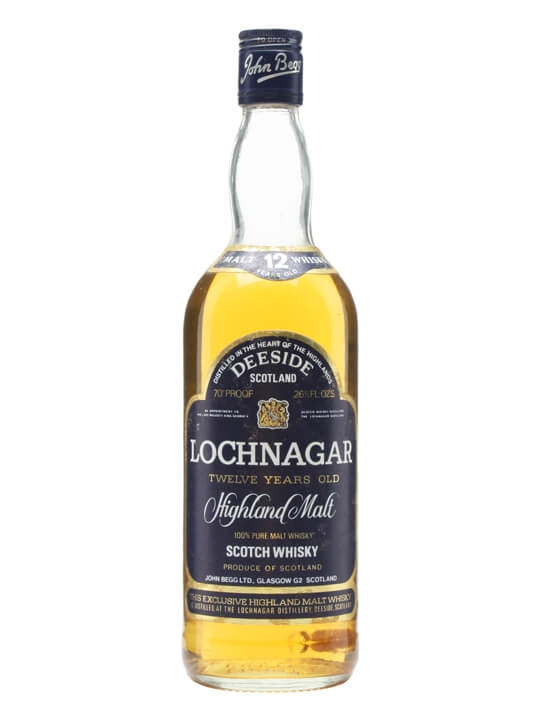 Lochnagar 12 Year Old / Late King George / Bot.1970s Highland Whisky