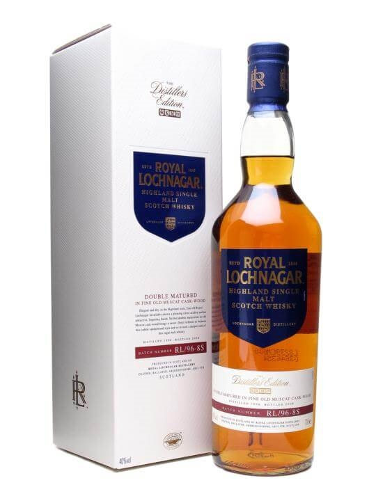 Royal Lochnagar 1996 / Distillers Edition Highland Whisky