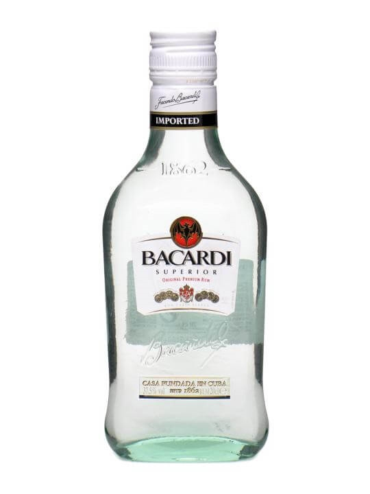 Bacardi Superior Rum / Small Bottle