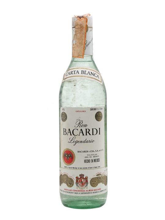Bacardi Legendario (Mexico) Rum / Bot.1970s