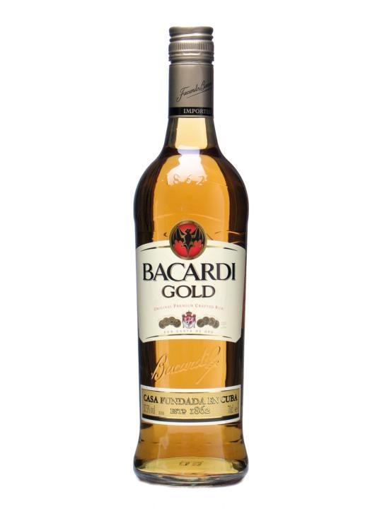 Bacardi Gold Rum (Oro)