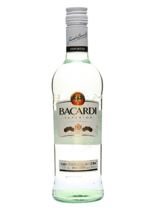 Bacardi Superior Rum / Half Litre