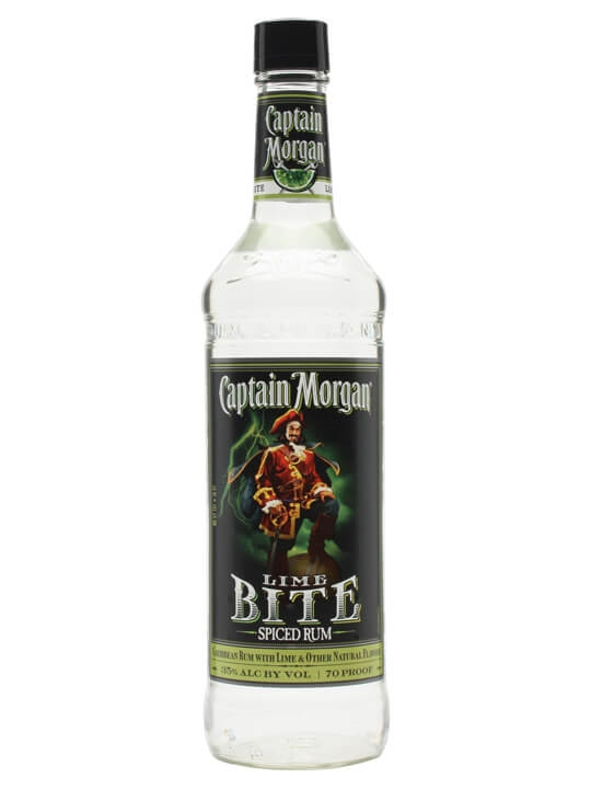 Captain Morgan Lime Bite Spiced Rum Spirit Drink