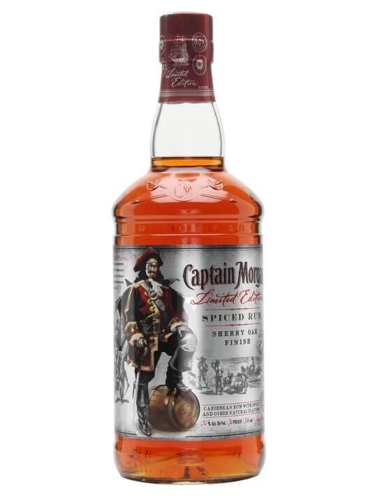 Captain Morgan Sherry Oak Finish Spiced Rum Spirit Drink