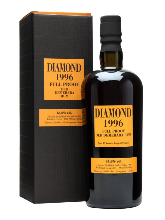Diamond 1996 Full Proof Old Demerara Rum