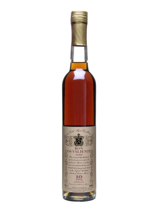 Ron Los Valientes 10 Year Old Rum