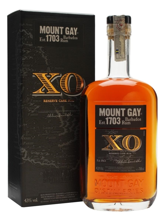 Mount Gay Extra Old Rum Buy Online The Whisky Exchange