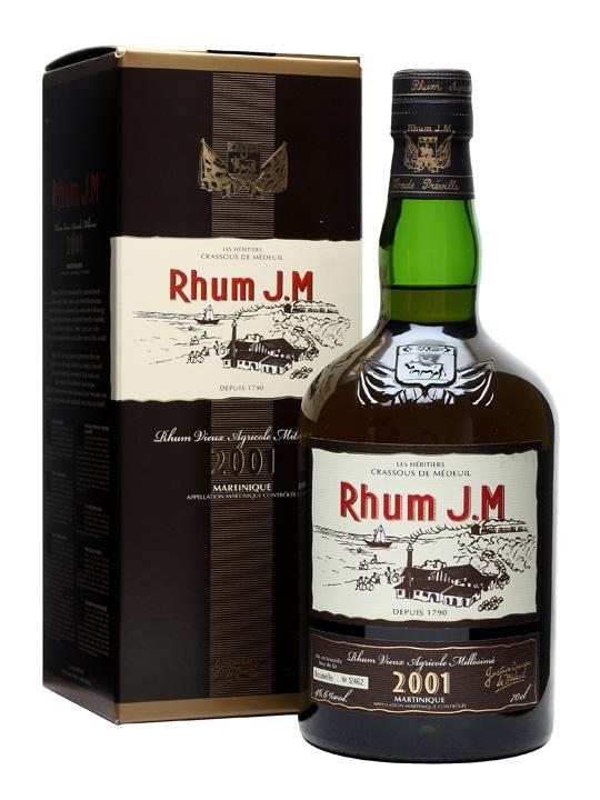 Rhum JM 2001